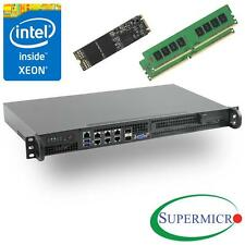 Supermicro SuperServer 5018D-FN8T Xeon D 1U Rackmount,10GbE,SFP+,8GB & 256GB M.2