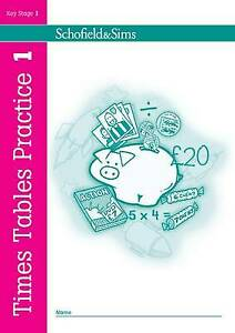 Times Tables Home Schooling Ann Montague-Smith Children's School Maths book