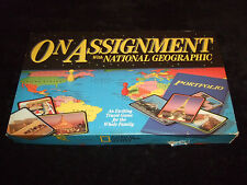 ON ASSIGNMENT- WITH NATIONAL GEOGRAPHIC AN EXCITING TRAVEL GAME FOR THE FAMILY