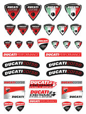Ducati Corse Motorcycle Stickers Fairing Tank Decals 1098 1198 Monster Panigale