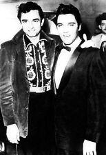 Johnny Cash w/ Elvis Presley Poster, Rock n' Roll Legends
