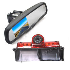 Rear View Reverse Backup Camera & Replacement Mirror Monitor For GMC Savana
