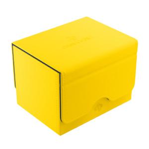 Sidekick 100+ Card Convertible Deck Box: Yellow GameGenic Asmodee NEW