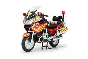 Tiny Hong Kong 1/12 Fire Department Fire Motorcycle Diecast Car Model