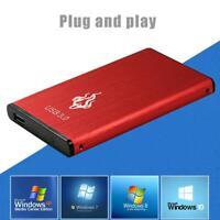 USB 3.0 2.5 inch External Hard Disk Drive Portable SATA III Desktop PC HDD
