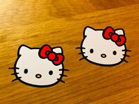 HELLO CAT KITTY Aufkleber Sticker Set Girly Teen Sweet Decal Tuning Mädchen Se31