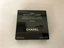 Chanel Duo Bronze Et Lumiere Bronzer and Highlighter Duo Medium 8g .28oz NEW