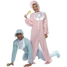 Women's Adult Big Pink Baby Romper Fancy Dress Costume Hen Party Fun One Size