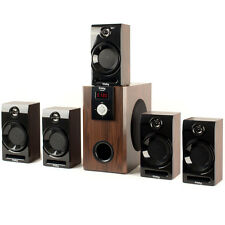 Frisby FS-5060BT PC Laptop Computer Home Theater 5.1 Speaker System w/Bluetooth