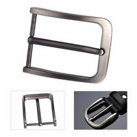 Stainless Steel Pin Buckle for Men Leather Belt Spare Replacement 40mm WT