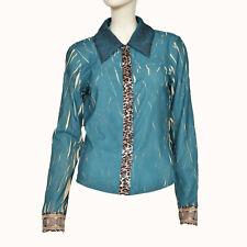Eva & Claudi Damen Bluse Hemd Top Shirt Blouse Gr.40  Mehrfarbig 75078