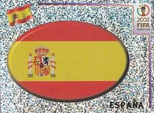 098 LOGO BADGE # SPAIN ESPANA NEW STICKER WORLD CUP KOREA JAPAN 2002 PANINI