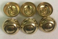 Handbag/ Luggage or Guitar Case  Bottom Studs Lot of 100 Brass/gold