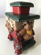 Midwest of Cannon Falls Eddie Walker Reindeer caboose train piece