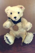"""STEIFF """"TEDDY BEAR DAWN"""" MOHAIR BEAR FOR DISNEY EVENT W/SIGNATURE AND DISNEY PIN"""