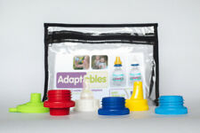 Adaptables Water Bottle Sippy and Nipple Adapter with Funnel