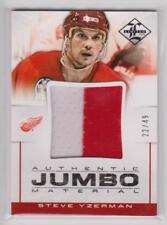 STEVE YZERMAN 2012-13 12-13 Limited Jumbo Jersey Materials Prime JJ-SY /49 Game