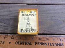 Muzzle Loader Speed Loading Kit , Vintage , Blue & Gray, 44 Cal ?