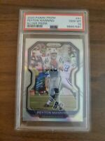 2020 Panini Prizm Peyton Manning Silver Prizm PSA 10 Gem Mint!!! Colts
