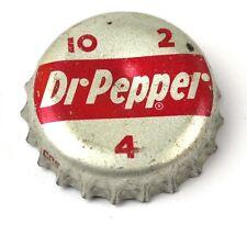 VINTAGE DR PEPPER Cola tappo bottiglia USA SODA TURACCIOLO - kursive