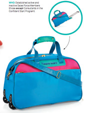 Tupperware Summer Jam Rolling Kit Carry On Bag Consultant Award New