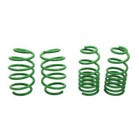 ST Suspensions 60288 Set of 4 Front & Rear Lowering Springs for 06-11 Civic FWD
