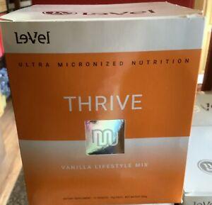 THRIVE Le-Vel - LIFESTYLE MIX Shakes 16 PACKETS - VANILLA - Level