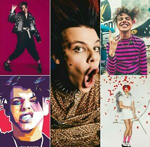 Yungblud Poster Yungblud A4 Poster Print Laminated Pick Yours Multi-Listing