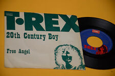 "T REX 7"" 20TH CENTURY BOY 1°ST ORIG ITALY 1973 EX"