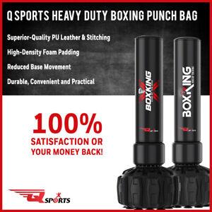 Q Sports Free Standing Heavy Duty Boxing Punch Bag MMA Kick Boxing Training