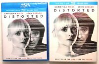 NEW Gift Ready 2-Way Combo DISTORTED Blu-Ray DVD WS 2018 Christina Ricci Rated R