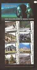 New Zealand 2004 Home of Middle Earth m/s MNH