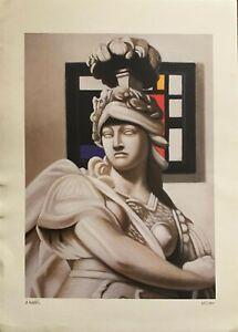 Alessandro Paternò serigrafia la Dea 67x48 firmata numerata perfetta