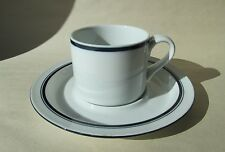 DANSK BISTRO Christianshavn Blue 1 Cup & 1 Saucer Set Japan