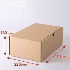Boîtes postales brunes 350x220x130 mm