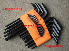 25 PC ALLEN BALL END HEX KEY DRIVER WRENCH SOCKET SET
