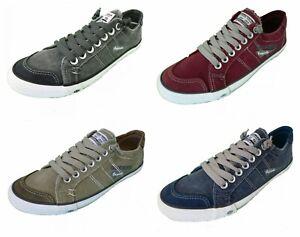 DOCKERS by Gerli 30ST027 Herren Sneaker Washed Canvas Schuhe Freizeitschuhe