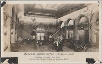 RPPC Postcard Barbara Worth Hotel El Centro CA