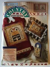 New listing Marcia's Sampler Daisy Kingdom No-Sew Fabric Applique Country Cut-Outs #19304
