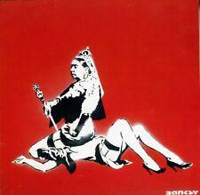 Banksy - Queen Victoria  - 50 x 65 cm. Arches Paper - Printed Signature