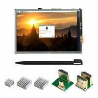 UCTRONICS 3.5 Inch Touch Screen for Raspberry Pi 4, HDMI TFT LCD Mini Display wi