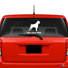Cane Corso Mom Windshield Sticker Vinyl Auto Window