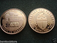 FOOD & SHELTER 1 x 1 oz Copper Coin Safety in Numbers  Round Protect the Future