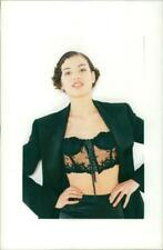 fashion 1994:madonna style over corset. - Vintage photo