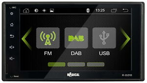 Double-Din 2-DIN DAB+ Voiture Radio Moniceiver Touch Screen Bluetooth Fm USB SD