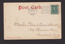 1904 LOUISIANA PURCHASE EXPOSITION STATION POSTMARK ON POSTCARD (CHISOLM BROS)