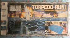 RARE 1986 FLOOR WARS SERIES 4740 MB TORPEDO RUN BATTLESHIP RETRO STAR BOARD GAME