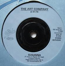 "ART COMPANY - Susanna - Excellent Condition 7"" Single Epic A 4174"