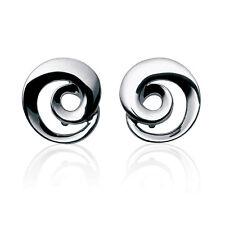 Georg Jensen Silver Earrings # 343 A - CONTINUITY