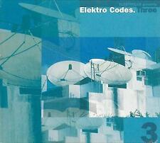 ELEKTROLUX presents ELEKTRO CODES.THREE - RARE 2 CD DIGIPAK EDITION - 2000 - OOP
